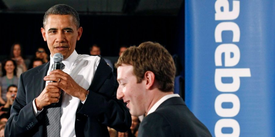 Former President of the U.S., Barack Obama brought the misinformation topic more than once when talking with Mark Zuckerberg, Facebook's CEO. Image Source: Business Insider