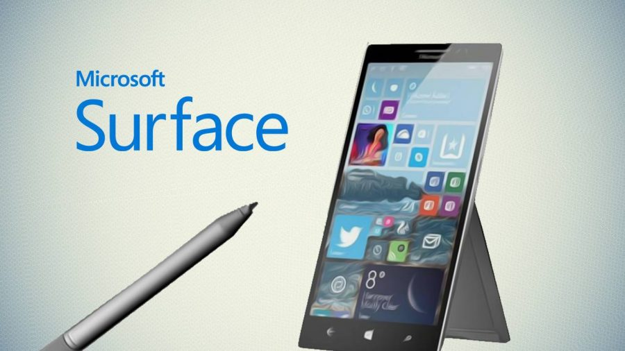 Microsoft's Surface Phone specs revealed. Image Source: The Country Caller