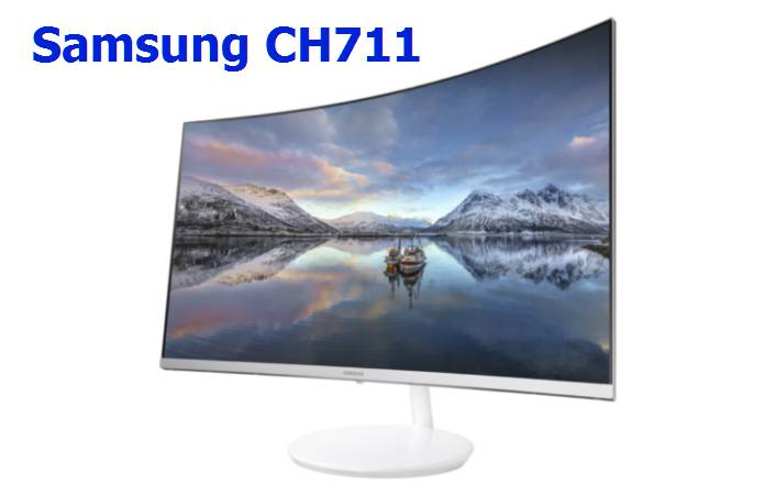 CH711 Quantum Dot curved display