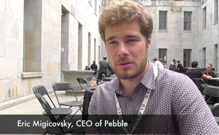 Eric Migicovsky, Pebble ex-CEO.