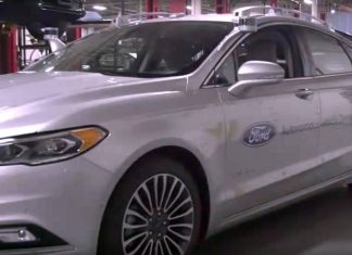 Ford Fusion Hybrid Autonomous Development Car