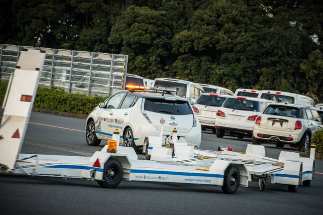 Nissan Intelligent towing
