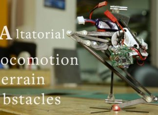 Salto is the world's best jumping robot.