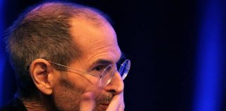 Steve Jobs facepalm.