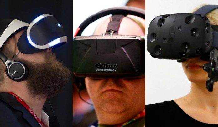 The war of the VR headsets