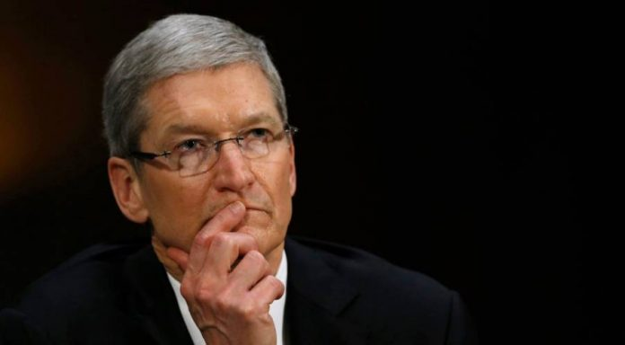 Tim Cook thinking.