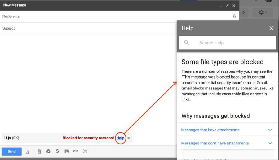Gmail Will Start Blocking Javascript Attachments By Feb. 13