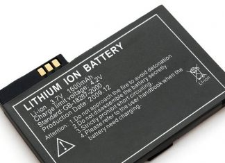 Lithium ion battery.
