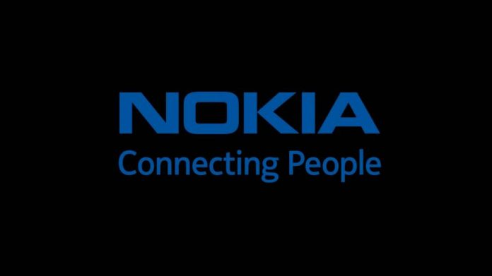 Nokia motto in black background
