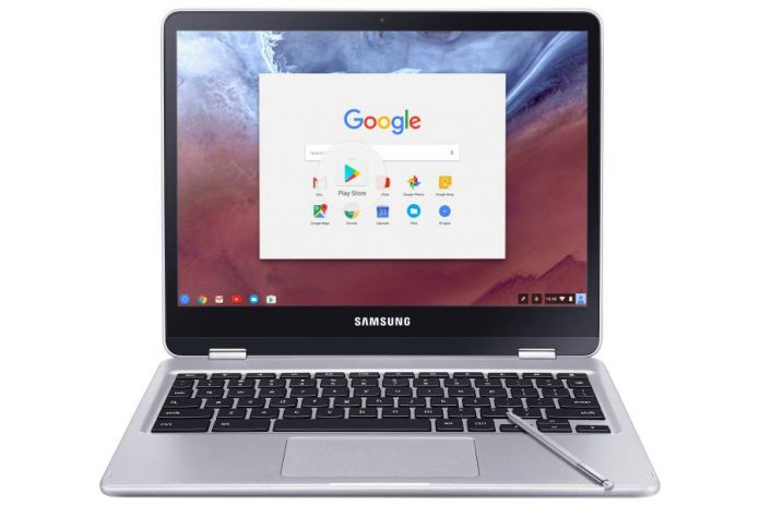 Smasung-Google new Chromebook debuts at CES 2017