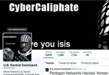 Twitter-Cyber-caliphate-account