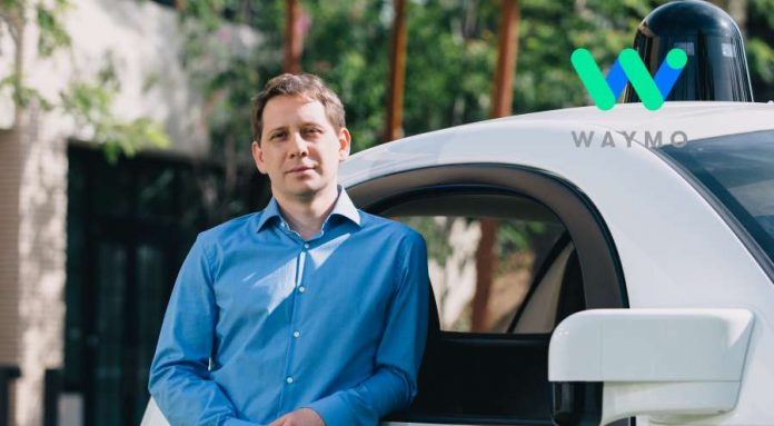 Dmitri Dolgov, Head of the Waymo division.