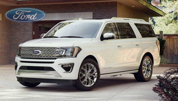 New Ford Expedition 2018 has a big and light aluminum body