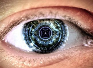 Human-Cyborg-green-Eye