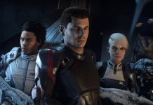 Mass Effect Andromeda crew members.