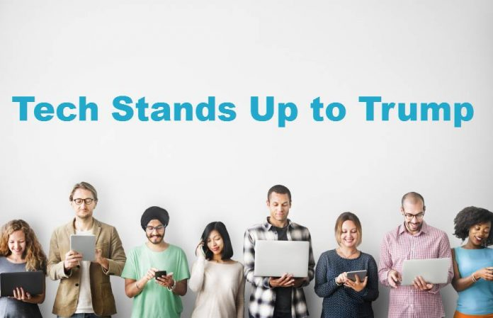 Tech stands Up-Muslim-Ban-Donald-Trump