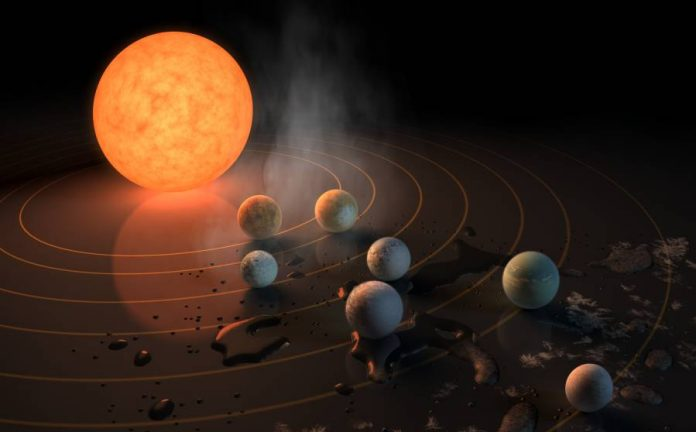 Ultra-cool-star-Trappist-1-exoplanets
