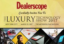 2017 Luxury Technology Show poster