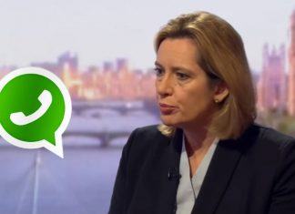 Amber Rudd claims end-to-end encryption is unacceptable.