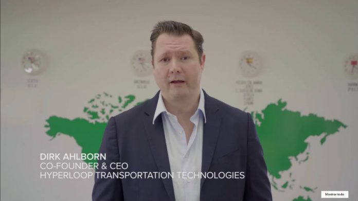 Dirk Ahlborn Hyperloop Transportation Technologies Co-Founder & CEO