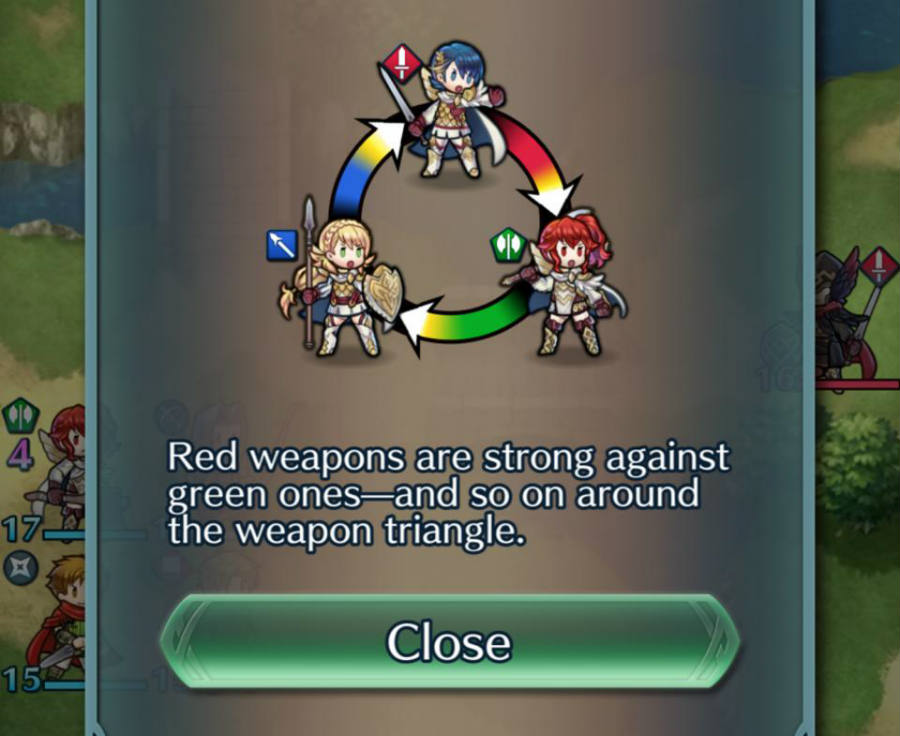 Fire Emblem Heroes arms triangle