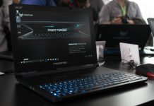 Acer Predator Triton 700 photo.