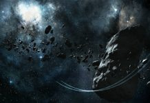 Asteroid digital art