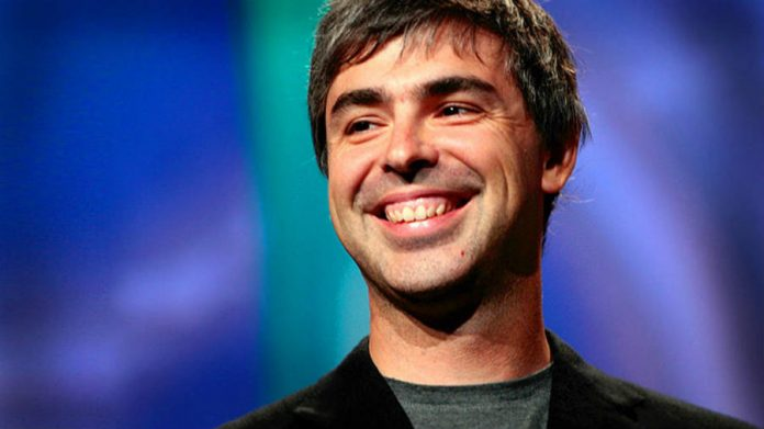 Larry Page laughing