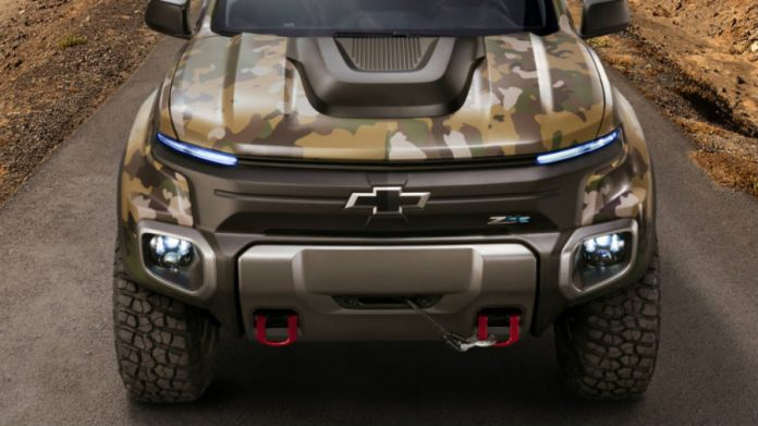 U.S. Army will use the ZH2, a modern stealth truck by GM