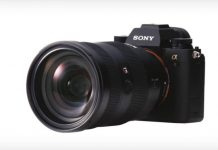 Sony A9 front/left side angle