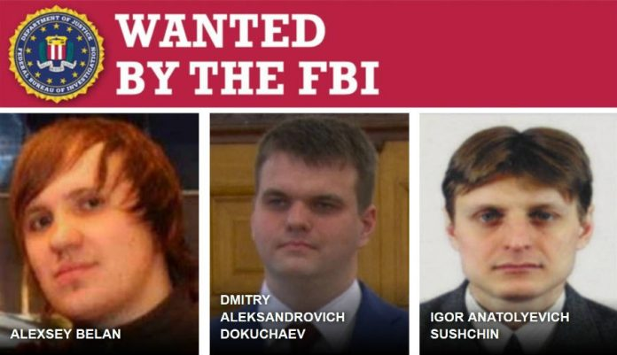 Wanted photo of Yahoo hackers