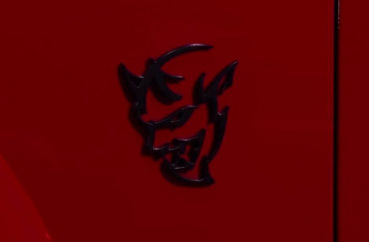 Dodge Challenger SRT Demon logo