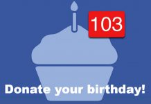 Facebook birthday image
