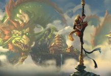Monkey King vs Chinese Dragon.
