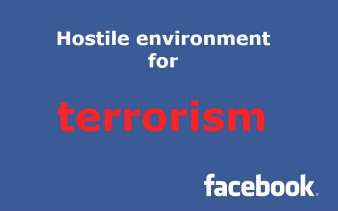 Facebook against terrorism