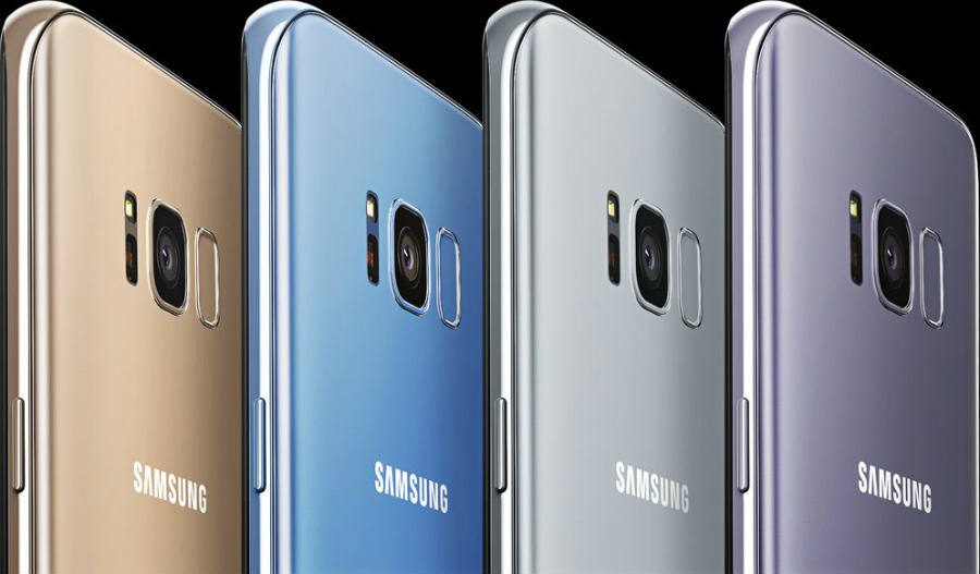 Samsung Galaxy S8 models