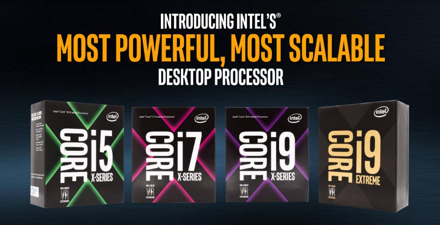 Intel X-series processors information