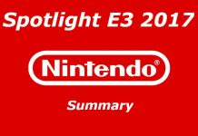 Nintendo Spotlight E3 2017 Nintendo Switch game list