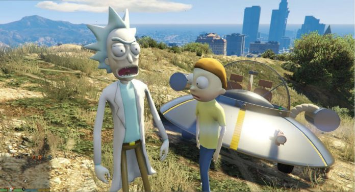 Rick and Morty GTA mod