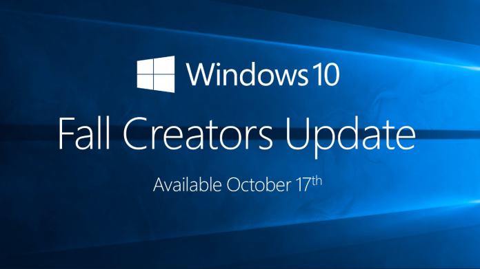 Windows 10 Falls Creator Update set for October release