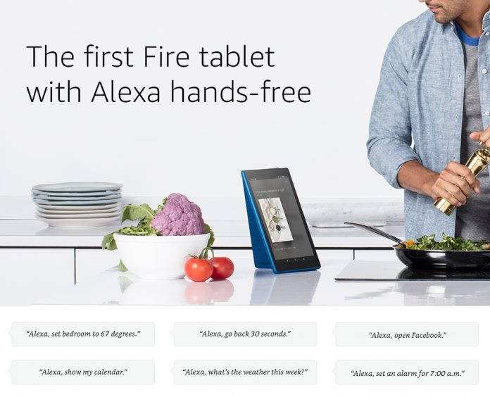 Alexa goes hands-off for Amazon's new Fire HD 10 tablet