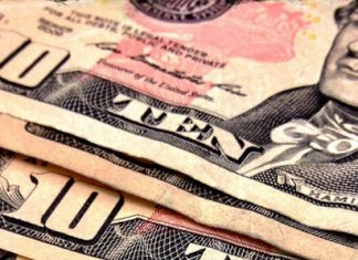 $10 American Bill