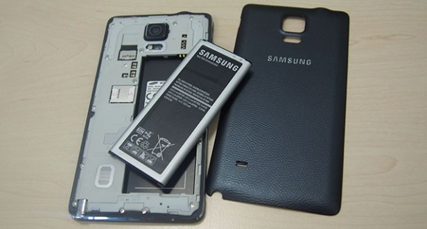 Galaxy Note 4 battery.