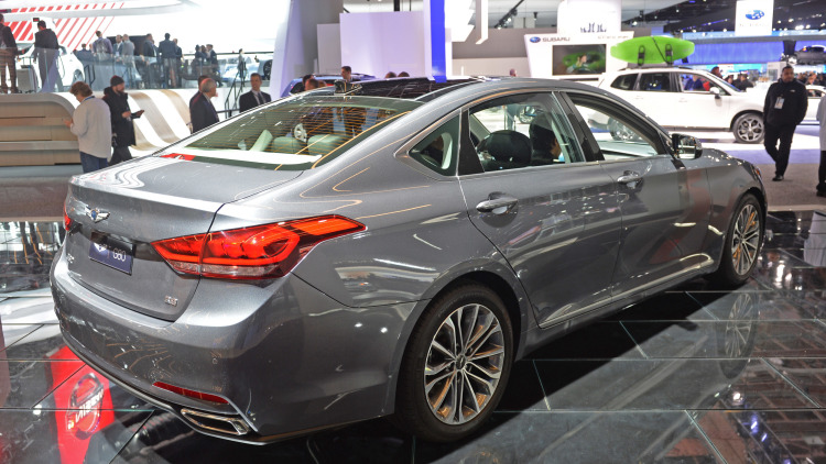 Genesis G80 2016 Meet Hyundai S Perception Of Luxury