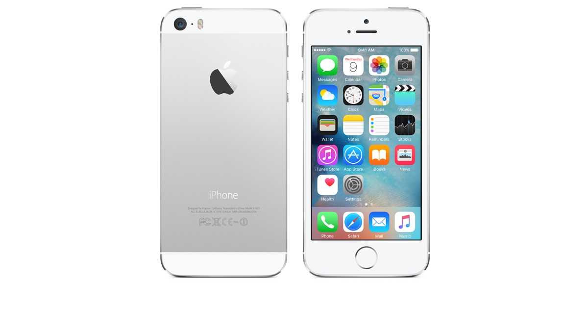 The Apple iPhone 5S, originally released in September of 2013.
