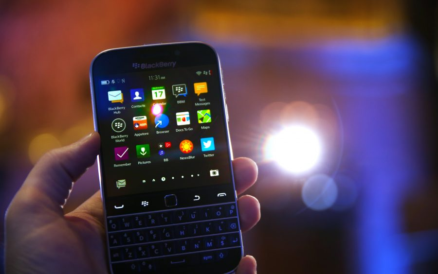 Blackberry Classic. Image Source: PC World