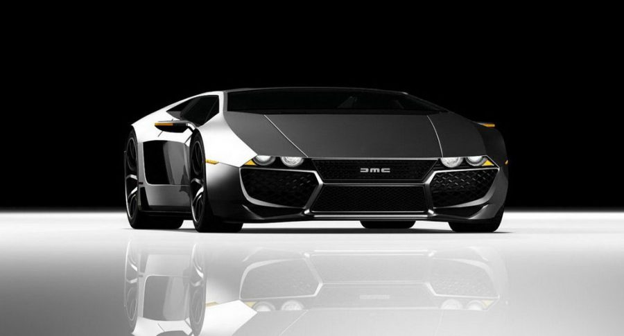 The Tomaso Mangusta Legacy, photoshopped with the DMC logo created a huge fuzz about the upcoming DMC-12 from DeLorean Motor Company. Image Source: Tomaso