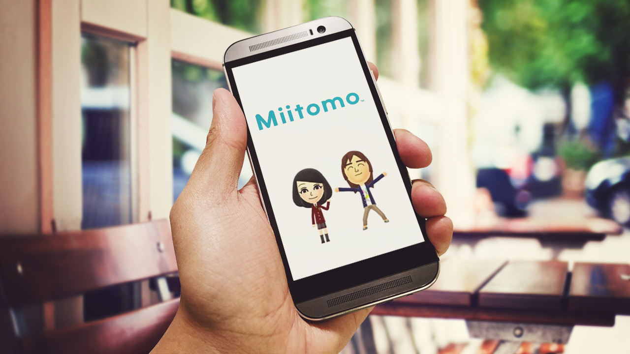 Nintendo's Miitomo app for Android.