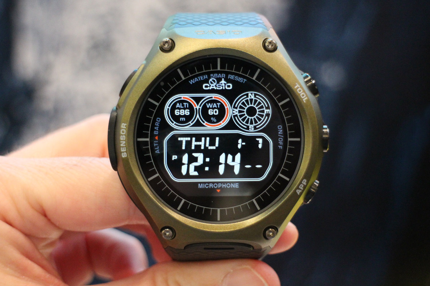Casio's Android Wear smartwatch goes on sale March 25th ...