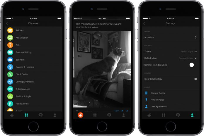 Reddit emphasizes on mobile, launches official iOS and